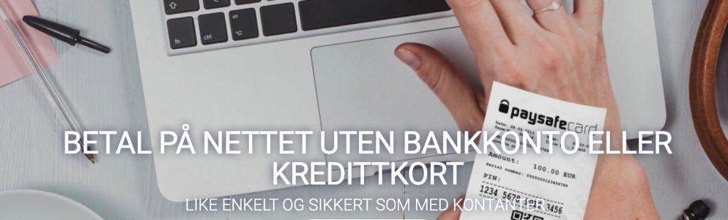 paysafecard norske bettingsider