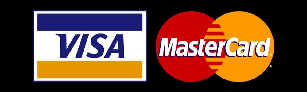 Visa og Mastercard logo